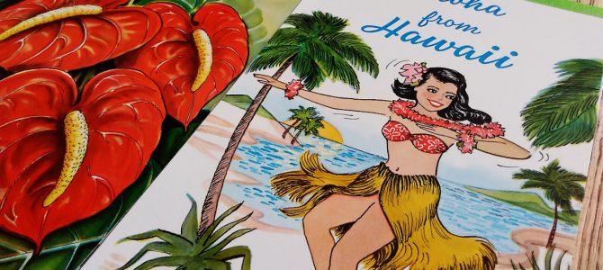 フラガールとハワイのお花たち