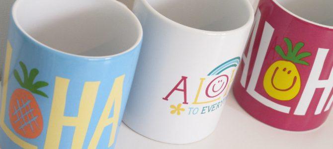 ALOHA マグカップ♪