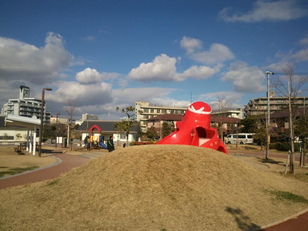松江公園たこの遊具
