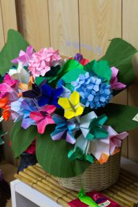 折り紙の植木鉢