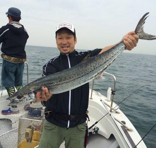 まいどです!高砂・浜栄丸さんより釣果が届きました!