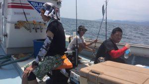 徳島県キャスティング&ジギング釣行!