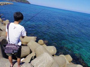 日本海で海満喫!夏最高!