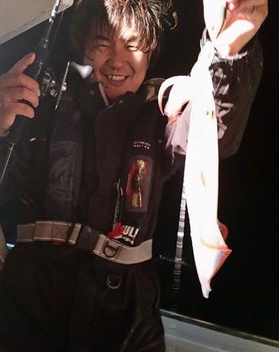 まいどですニスギです!昨日、加古川店T花店長が、人生初・イカメタルゲームに行って来られました!